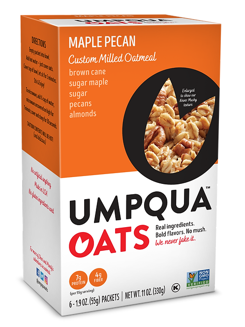 Umpqua Oats -Maple Pecan Packet