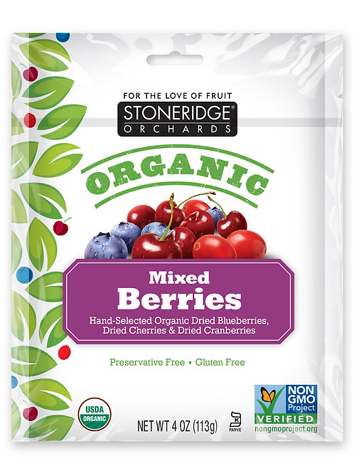 Organic Mixed Berries 6/4oz