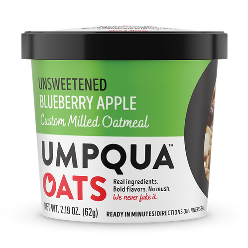 Umpqua Oats -Unsweetened Blueberry Apple