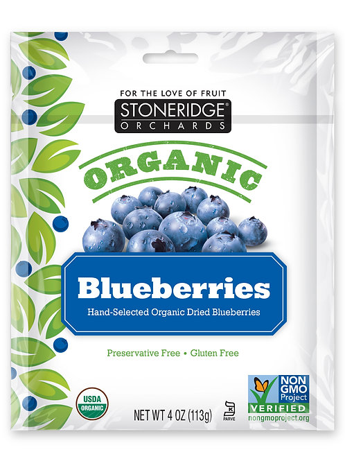 Organic Blueberries 6/4oz
