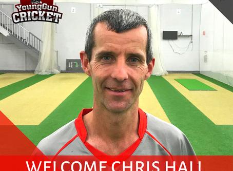 Welcome Chris Hall!