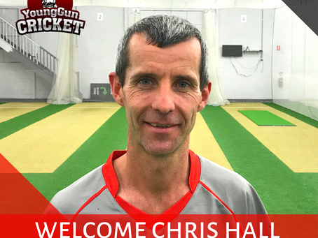 Welcome Chris Hall!