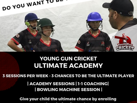 THE ULTIMATE ACADEMY IS HERE