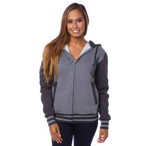 Unisex Varsity Zip Hood