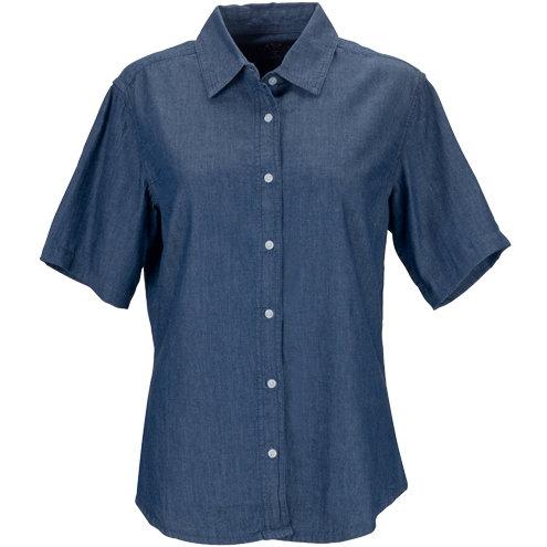 Women's Short-Sleeve Hudson Denim Shirt