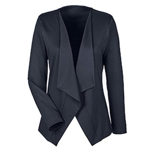 Devon & Jones Perfect Fit™ Draped Open Blazer