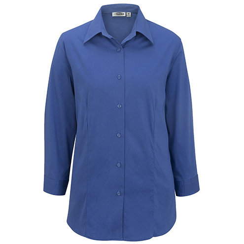LADIES' TAILORED MATERNITY STRETCH BLOUSE