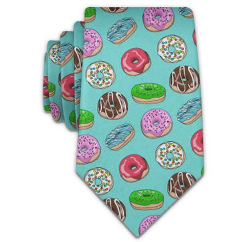 "2"" Skinny Tie w/ full sublimation"