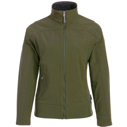 Ladies Soft-Shell with Crosshatch Weave