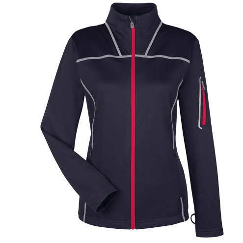 North End Ladies' Endeavor Interactive Performance Fleece Jacket