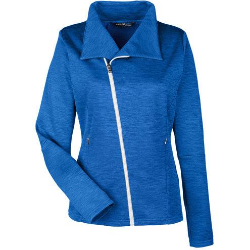 Ash City - North End Ladies' Amplify Mélange Fleece Jacket