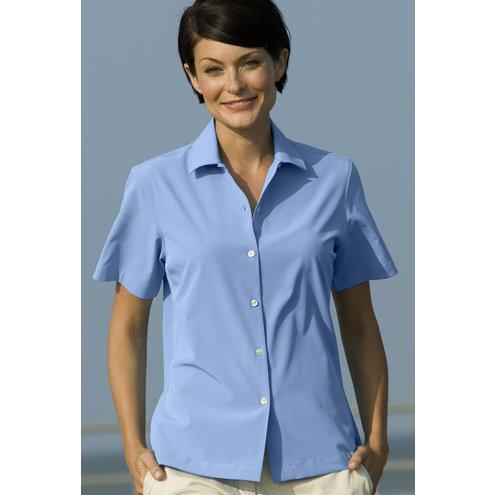 Women's Vansport™ Woven Camp Shirt