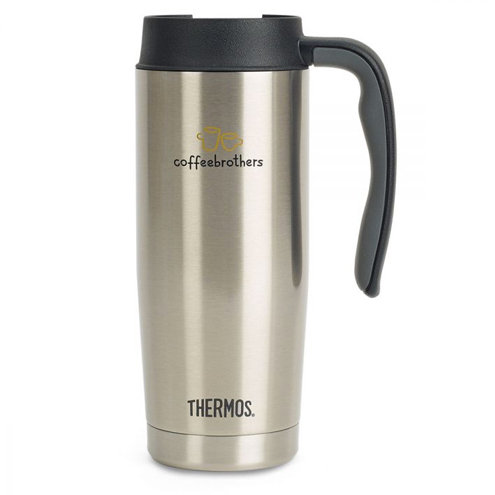 Thermos® Stainless Steel Travel Mug - 16 Oz.
