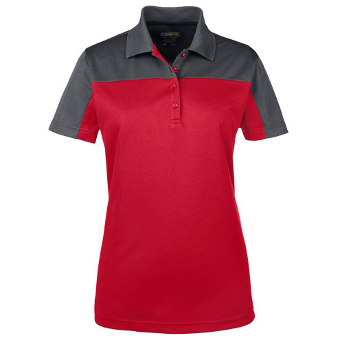 Ash City - Core 365 Ladies' Balance Colorblock Performance Piqué Polo