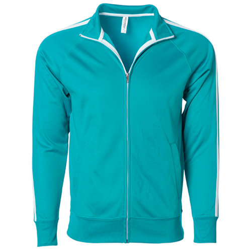 UNISEX LIGHTWEIGHT POLY-TECH TRACK JACKET