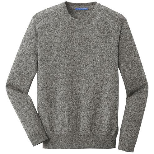 Port Authority ® Marled Crew Sweater