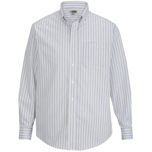 Men's Double Stripe Poplin