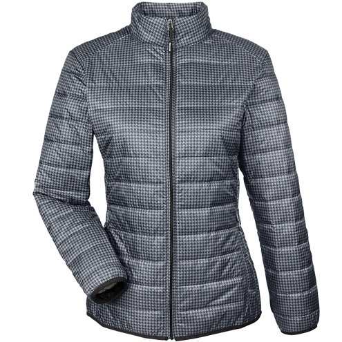 North End Ladies' Portable Interactive Printed Packable Puffer
