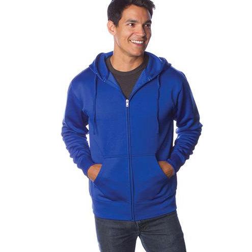 Poly-Tech Zip Hooded Sweatshirt
