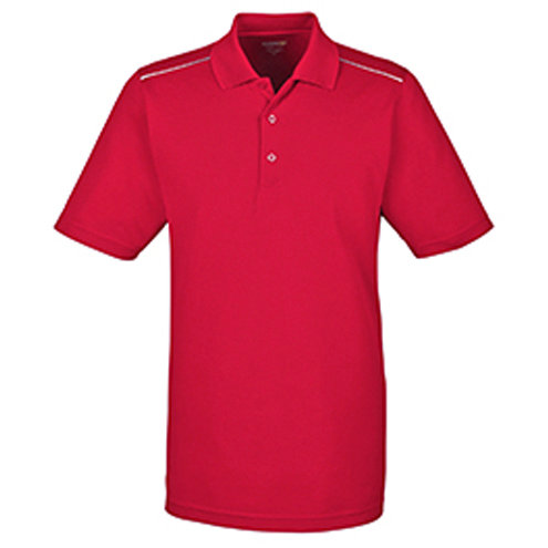 Ash City - Core 365 Men's Radiant Performance Piqué Polo with Reflective Piping