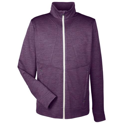 Ash City - North End Men's Amplify Mélange Fleece Jacket