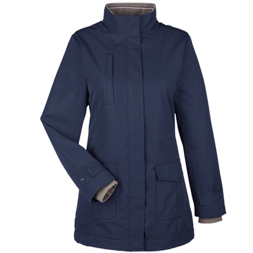 Devon & Jones Ladies' Hartford All-Season Hip-Length Club Jacket