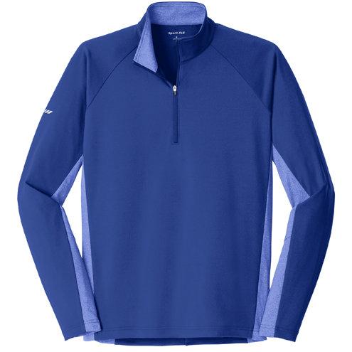 Sport-Tek® Sport-Wick® Stretch Contrast 1/2-Zip Pullover