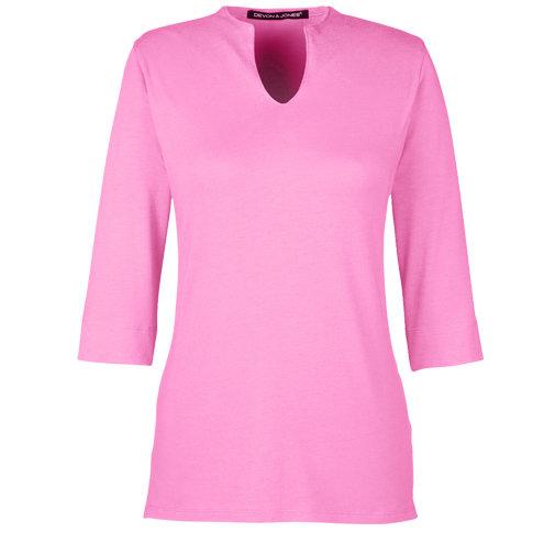 Devon & Jones Ladies' Perfect Fit™ Tailored Open Neckline Top