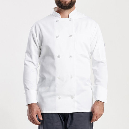 Men's Modern Fit Primary Chef Jacket