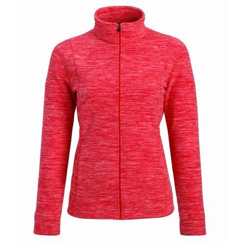 Ladies Marled Fleece Jacket