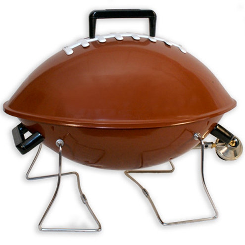 "20"" Football Portable Gas Grill w/ Decal"