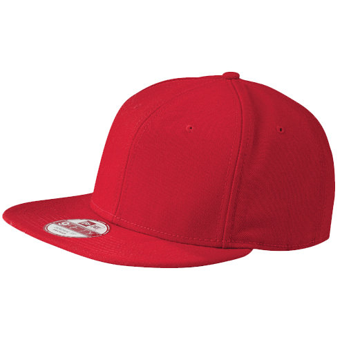 New Era® Original Fit Flat Bill Snapback Cap