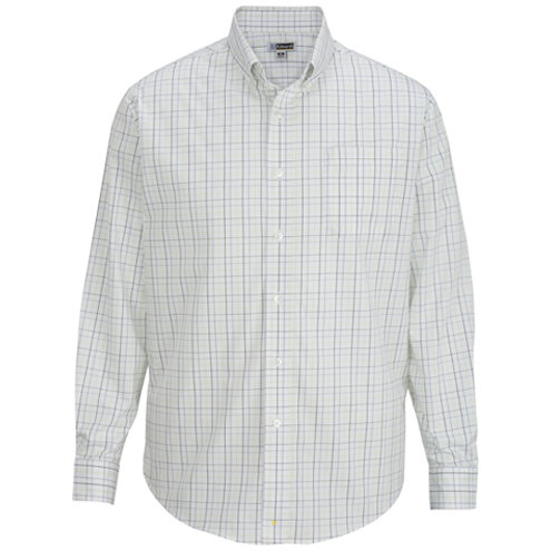 Men's Tattersall Poplin Shirt