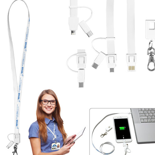 Lanyard Like Extra Long Charging Cable for Mobile Devices