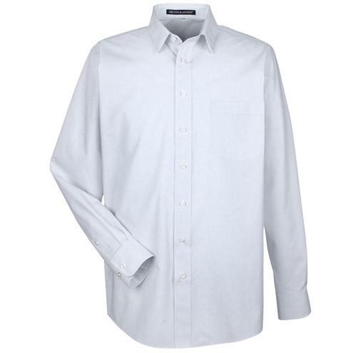 Devon & Jones Men's Crown Collection™ Striped Shirt