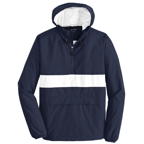 Sport-Tek® Zipped Pocket Anorak