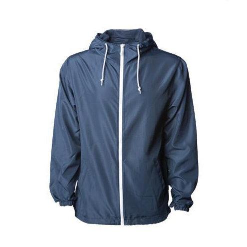 Independent Trading Co. - Light Weight Windbreaker Zip Jacket