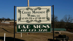 Chaney Monument Gainesville Missouri