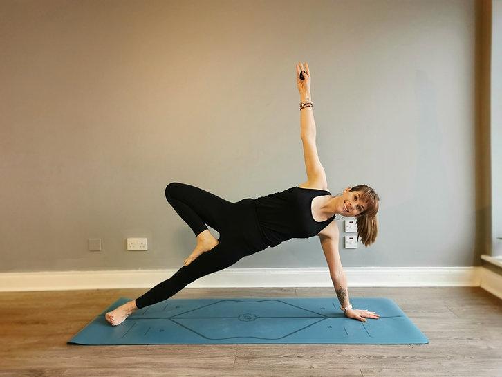 Side Plank Christine Dunworth