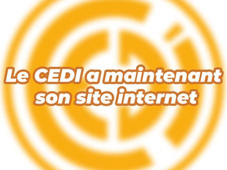 Lancement du site internet du CEDI