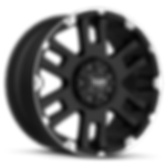 TUFF_T04_FlatBlack_MachinedFlange_Standa
