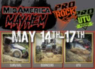 Pro Rock Racing MidAmeric Mayhem