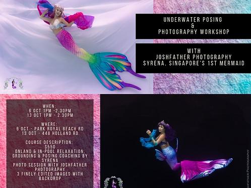 Mermaids On Film 101: Underwater Posing & Photography Workshop
