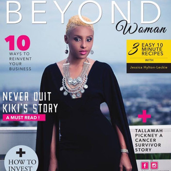 Beyond woman Magazine - Kiki Thombs
