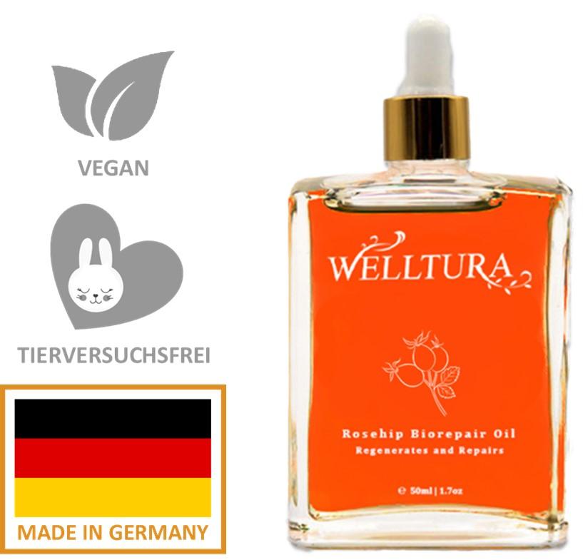 Welltura Hagebuttenöl Vorteile