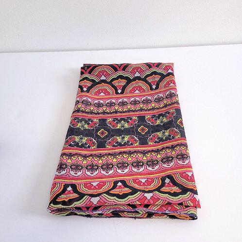 Wrap, Geometric & Flower Print