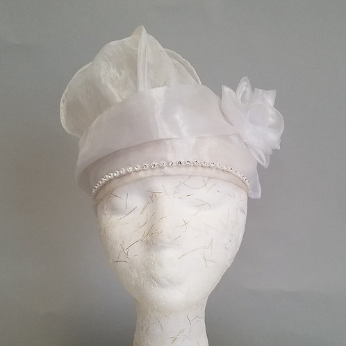 Diva Hat, Hair covering (Organza)