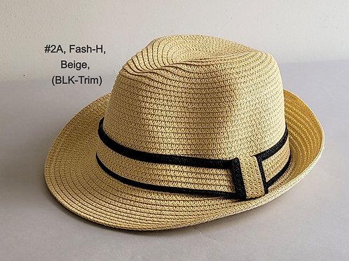 Fedora Hats (with double edge trim)