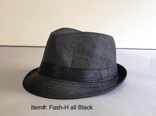 Fedora Hat, Black