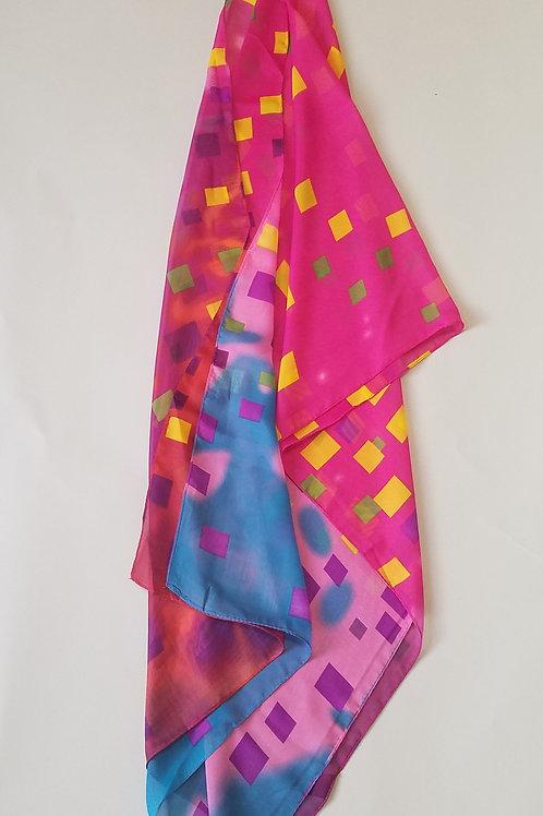 Scarf (Multi Color Geometric)